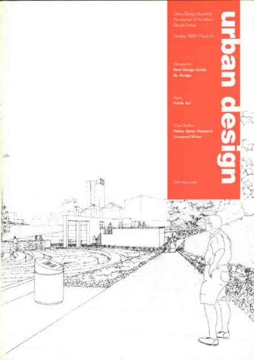 URBAN DESIGN 76 Autumn 2000 Publication Urban Design Group