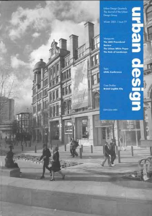 URBAN DESIGN 77  Winter 2001 Publication Urban Design Group