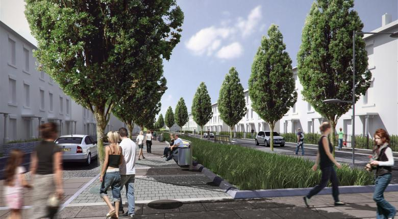The Avenue Area Strategic Framework Project Images