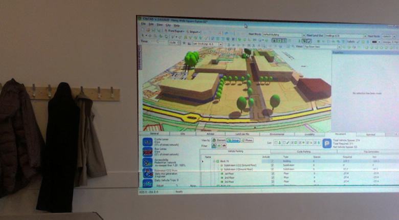 CityCAD in Neighbourhood Planning Project Images