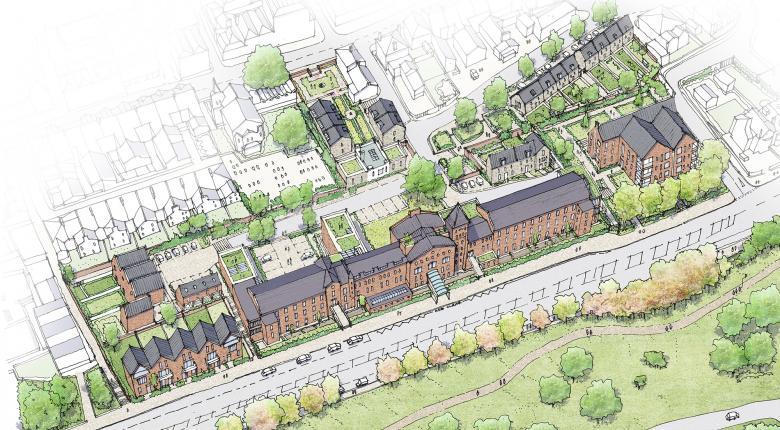 Regeneration Framework for St. Bartholomews Hospital, Rochester, Kent Project Images