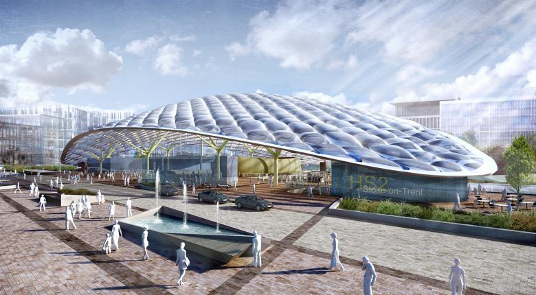 Stoke HS2 and City Centre Masterplan Project Images
