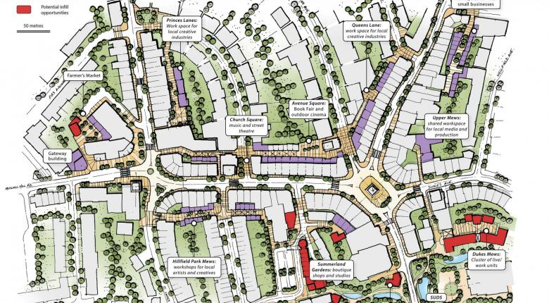 Creative Lanes - a Town Centre Vision Study for Muswell Hill, North London Project Images