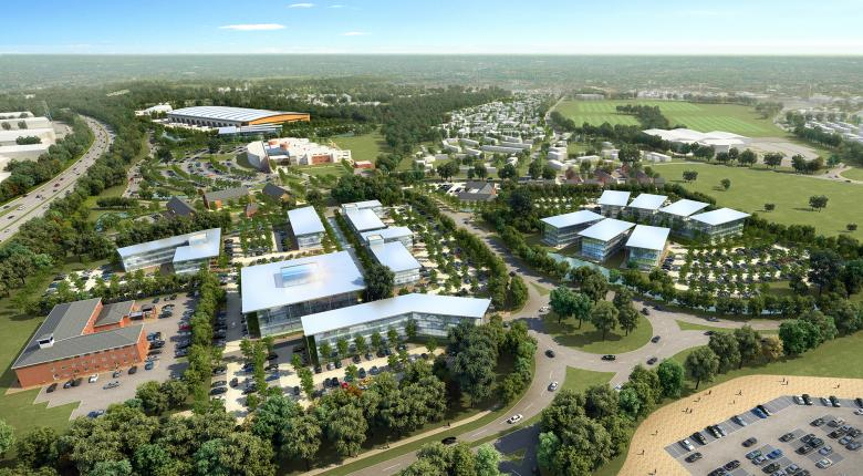 Adanac Park Development Framework, Nursling, Southampton Project Images