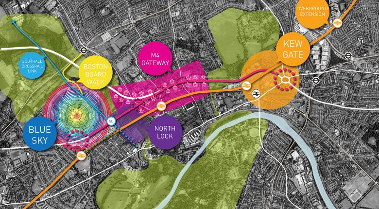 Golden Mile Vision and Concept Masterplan Project Images