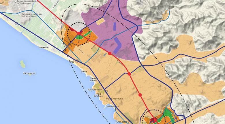 Punta Nueva Outline Masterplan, Lima Project Images