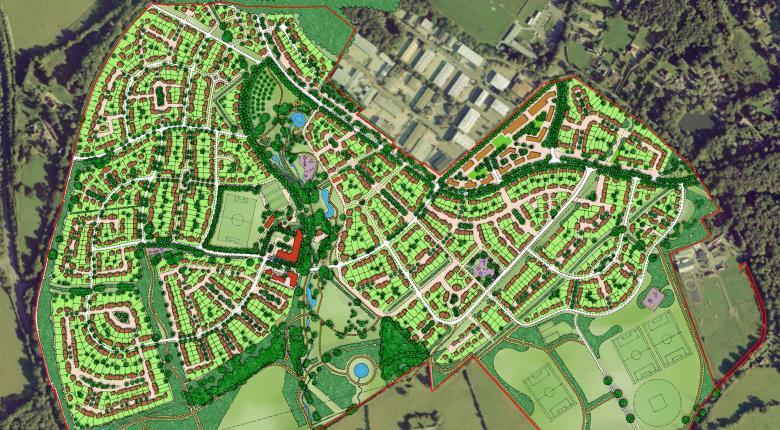 Hogwood Garden Village, Wokingham, UK Project Images