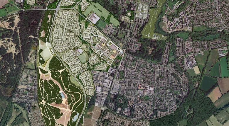 Whitehill & Bordon Green Town, Hampshire Project Images