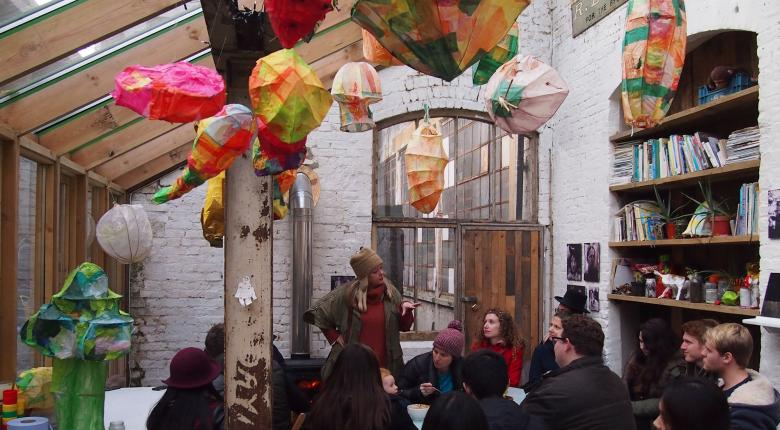 Study trip to London (Facilitating Resilience studio, 2013/2014)