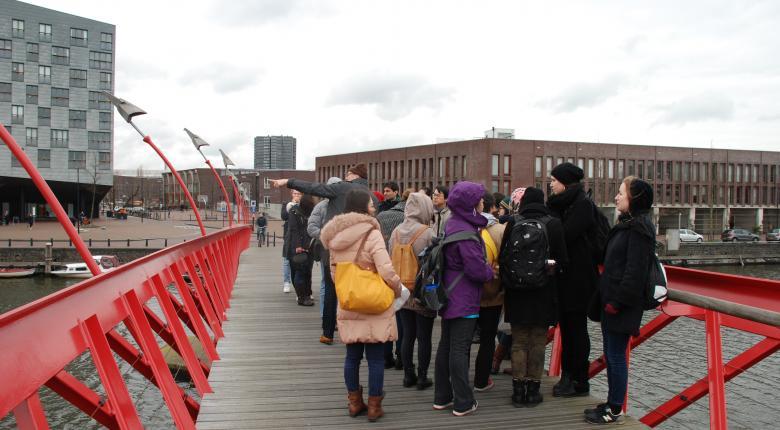 Field visit in Amsterdam