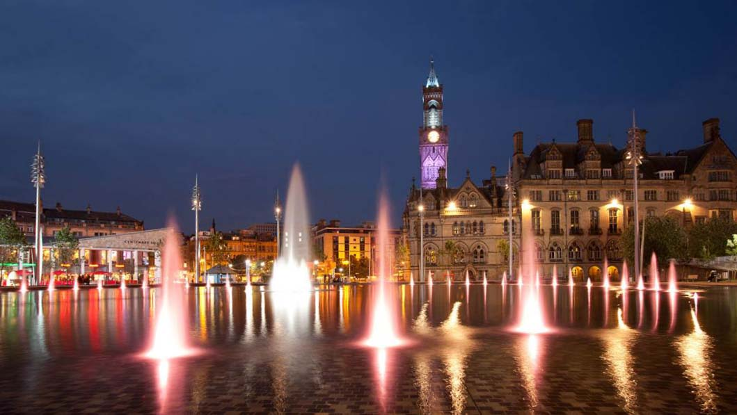 Bradford Award Winning City Square